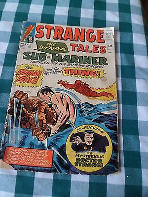 Strange Tales  125   1964- Marvel Comic