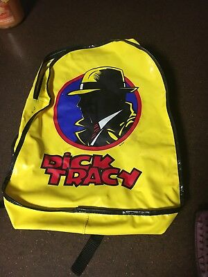 Collectible Used Disney Dick Tracy Children's Backpack Rare
