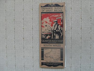 1937 OS Map - South Wales