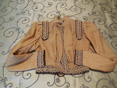 1885 / 1890 Ladies Victorian Blouse / Lined Jacket
