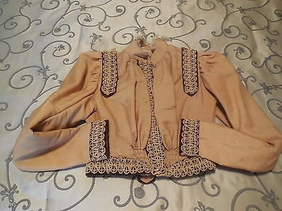  Circa 1885 Ladies Victorian Blouse / Lined Jacket