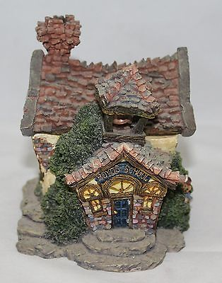 Boyds Town Village The Boyds Bearly A School Resin Village Building #19004