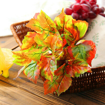 Artificial Leaves Plant Fake Foliage Plants Home Wedding Home Decor Ornament