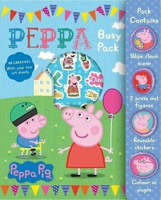 Peppa Pig Stickers Busy Pack Childrens Activity Stocking