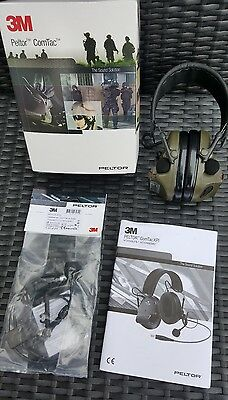 Peltor ComTac Headset & boom Kit with extension cable for the PRR 343 bowman  😲
