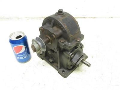 Vintage Boston #TA 50 Gear Box Transmission Speed Reducer Gearbox 50:1 Ratio