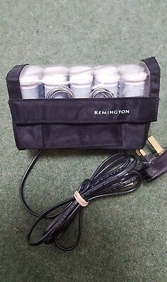 Remington Express Electric Heated Hair Rollers Tight Curlers Compact Travel size