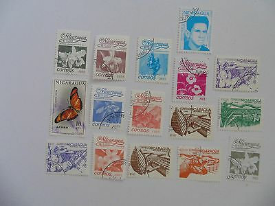 L1831 - Mixed Nicaragua Stamps