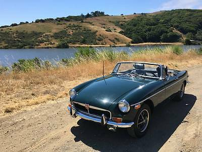 1973 MG MGB  70's MGB Roadster in Classic British Racing Green - NO RESERVE