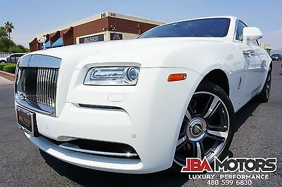2014 Rolls-Royce Wraith 2014 Rolls-Royce Wraith Coupe 14 Wraith Coupe 1 Owner Clean CarFax Fully Loaded like 2012 2013 2015 2016 2017