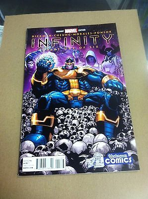 Infinity #1 Yesteryear Ramos variant.First cover appearance The Black Order.