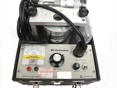 Ird Mechanalysis (Entek Ird) Model 421 Vibration Pickup And System Tester