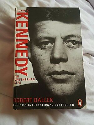 John F. Kennedy: An Unfinished Life 1917-1963 by Robert Dallek (Paperback, 2004)