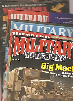 7 - Military  Modelling & Wargames  Illustrated  Magazine's - Tanks  - Aircraft