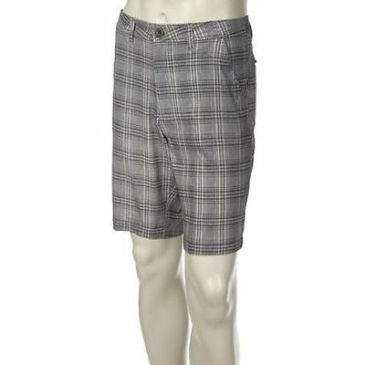 Men's ZeroXposur Neo Hybrid Quick Dry Shorts Grey Plaid, Size 28 - New w/ Tags!!