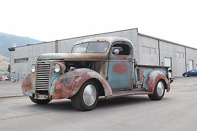 1939 Chevrolet Truck C10 1939 Chevrolet Chevy Rat Rod Patina Hot Rod Shop Truck S10 chassis V8 Auto
