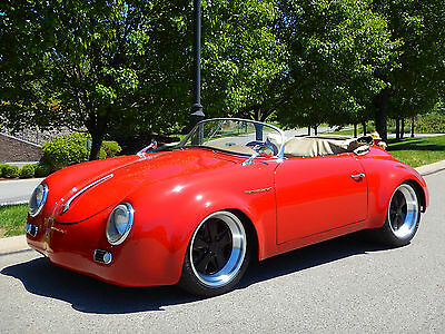 1956 Porsche 356 Speedster Porsche 356 Outlaw Speedster Widebody Tribute