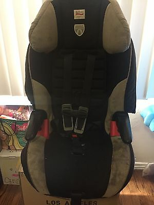 Britax Frontier 85 5pt Harness onyx Booster Car Seat NO ACCIDENTS Smoke free hom