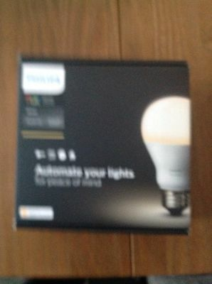 Philips Hue LED Bulb E27 Starter Set white NEW