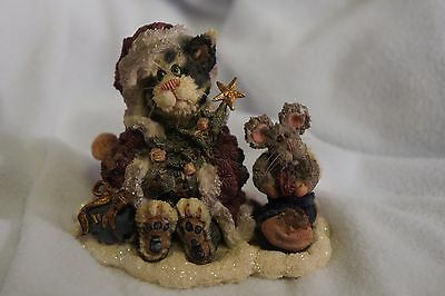 Boyds Bears and Friends STYLE 371003 Santa Claws and Nibbles...