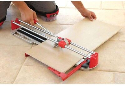 Rubi Star 21 in. Tile Cutter Porcelain and Ceramic Tiles with Steel Guides