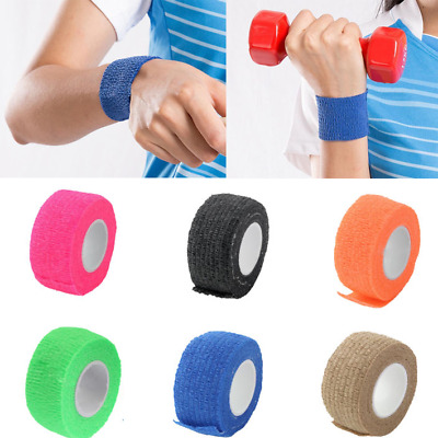 First Aid Bandage Self-adhesive Elastic Non-woven Healthcare 4.5*2.5cm 6 Color