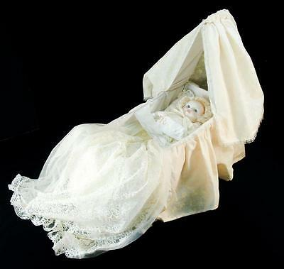 Royal Doulton Nisbet Royal Baby Doll with Bassinette Limited No. 1017