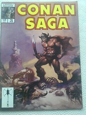 Conan Saga Issue 16 Conan The Barbarian Robert E Howard Jon Buscema