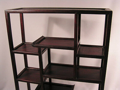 Attractive Quality Chinese Zitan, Hardwood, Curio Stand