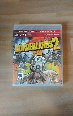 Borderlands 2 (Sony PlayStation 3, 2012) Brand New and Sealed