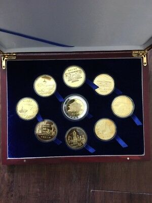 Shenyang Mint Box Of 9 Collectable Coins