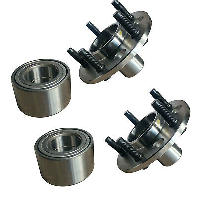 2 X Rear Wheel Bearing + Hub Kits Ford Falcon Ba Bf Fg Territory Sx Sy Sz, Fpv