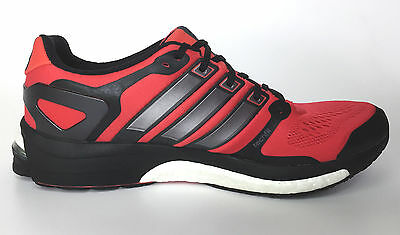 Adidas Adistar Boost M Esm Red-Black-Silver Running Men Shoes Size 11