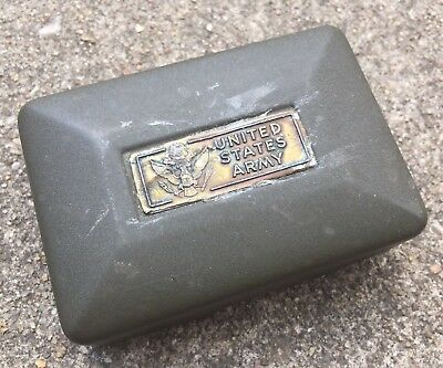 WWII US Army Soap Dish PX Ww2 Toiletry