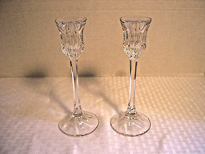 Crystal Candle Sticks (Pair)