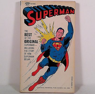Superman by National Periodical Publications, Inc. (1966, A Signet Book)