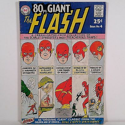 80 pg. Giant No. 4 The Flash - Superman DC National Comics October 1964 NR