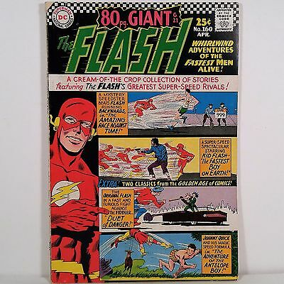 The Flash No. 160 - Superman DC National Comics April 1966 NR