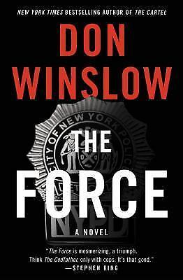 The Force by Don Winslow (2017, Hardcover)
