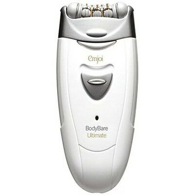 Emjoi BodyBare Ultimate dual head epilator AP98R with Carry Bag and Brush
