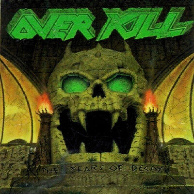 The Years of Decay by Overkill (CD, 1989 - Megaforce Records)