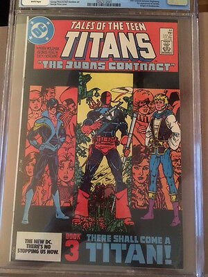 CGC 8.5 Tales of the Teen Titans #44 first appearance of Jericho and Nightwing