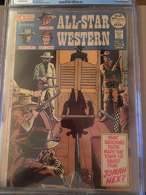 CGC 4.5 All Star Western #10 first appearance of Jonah Hex