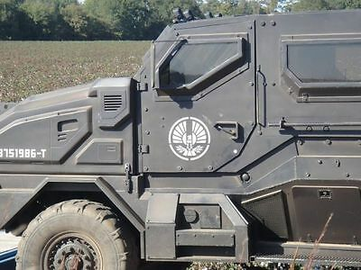 1997 Hummer H1 MRAP TACTICAL MACHINE MRAP Hunger Games Vehicle One of 3
