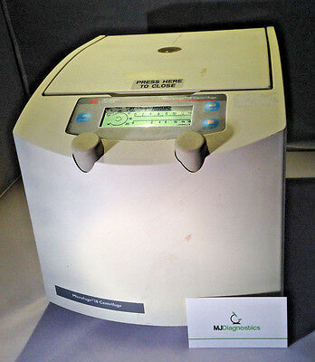 Working Beckman Coulter Microfuge 18 Digital Centrifuge w/ Rotor and Lid