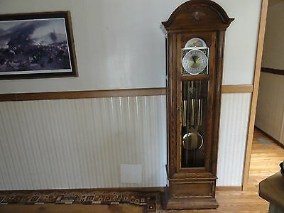 Seth Thomas Grandfather Clock Triple Chime Moon Phase