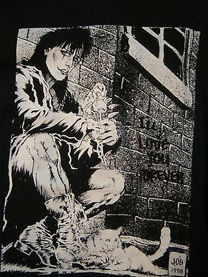 The Crow comic style t-shirt Size Extra Large