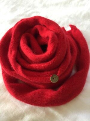 Mimco Scarf, Wool Red New!
