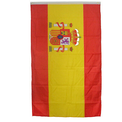 NewSpanish Flag large 3'x5' Spanish flag the Spain National Flag ESP GOCG Newest
