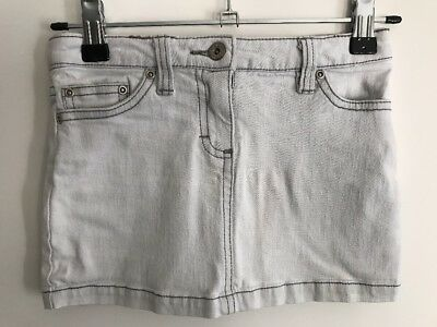 Seed Heritage Girls Denim Skirt Sz 4 - 5